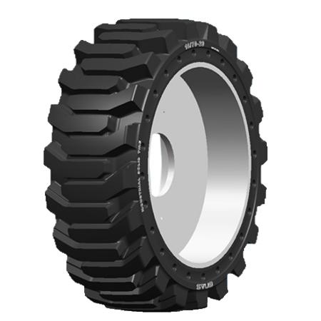 辐板式实心轮胎系列