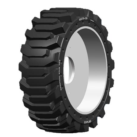 側孔型實心輪胎系列